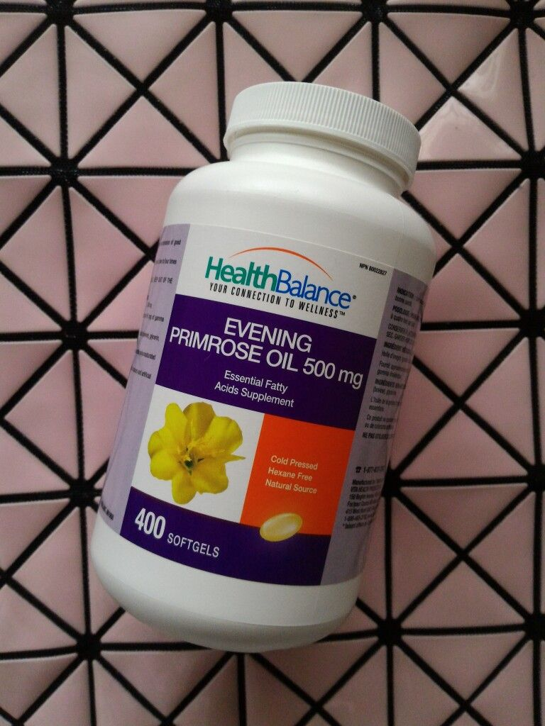 Evening Primrose Oil 500 mg contains a high concentration of