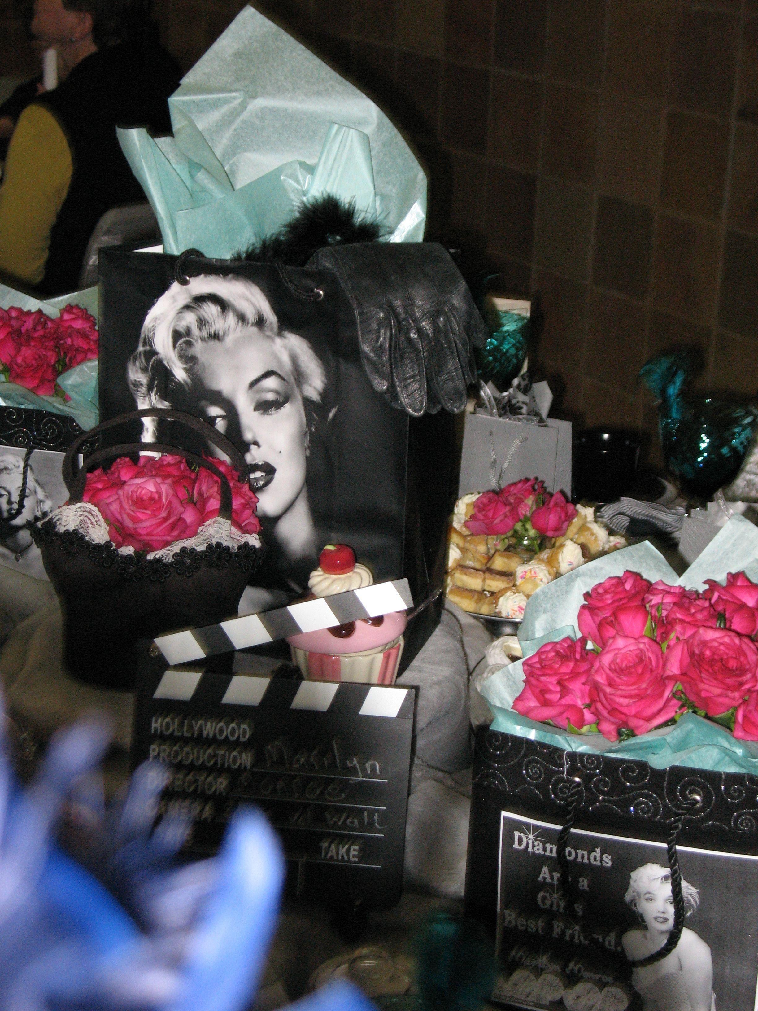 Theme Marilyn Monroe Hollywood Birthday Parties Hollywood Birthday Marilyn Monroe Birthday