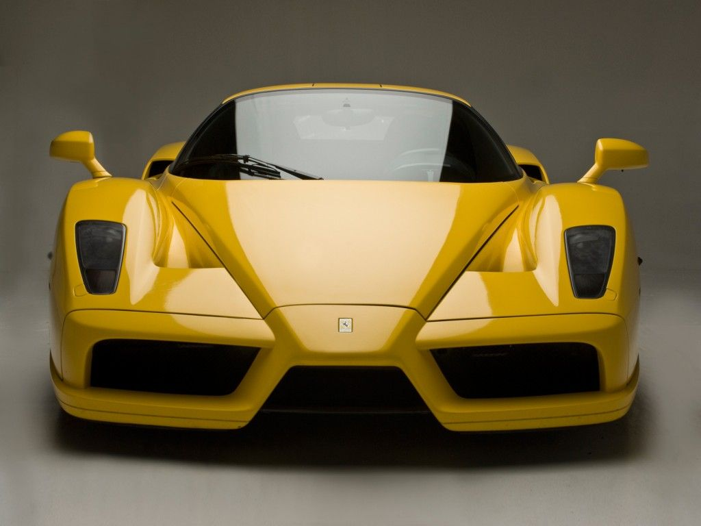 Yellow Sport Car Picture Ferrari Enzo Ferrari Car Ferrari Enzo