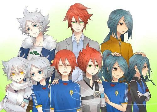 Inazuma Eleven Shawn Frost Xavier Foster And Nathan Swift