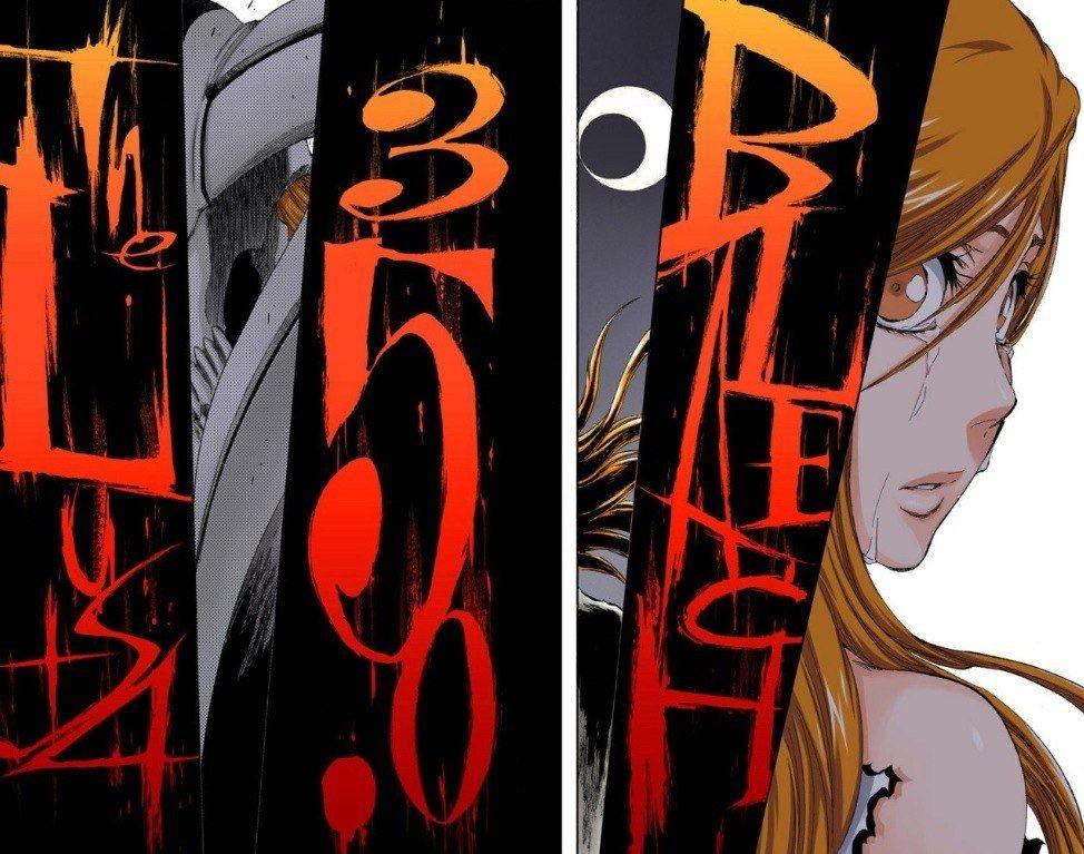 Bleach ichigo and orihime bleach anime bleach anime