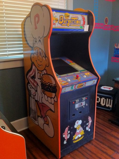 BurgerTime - Get's the most play in the game room right now. http ...