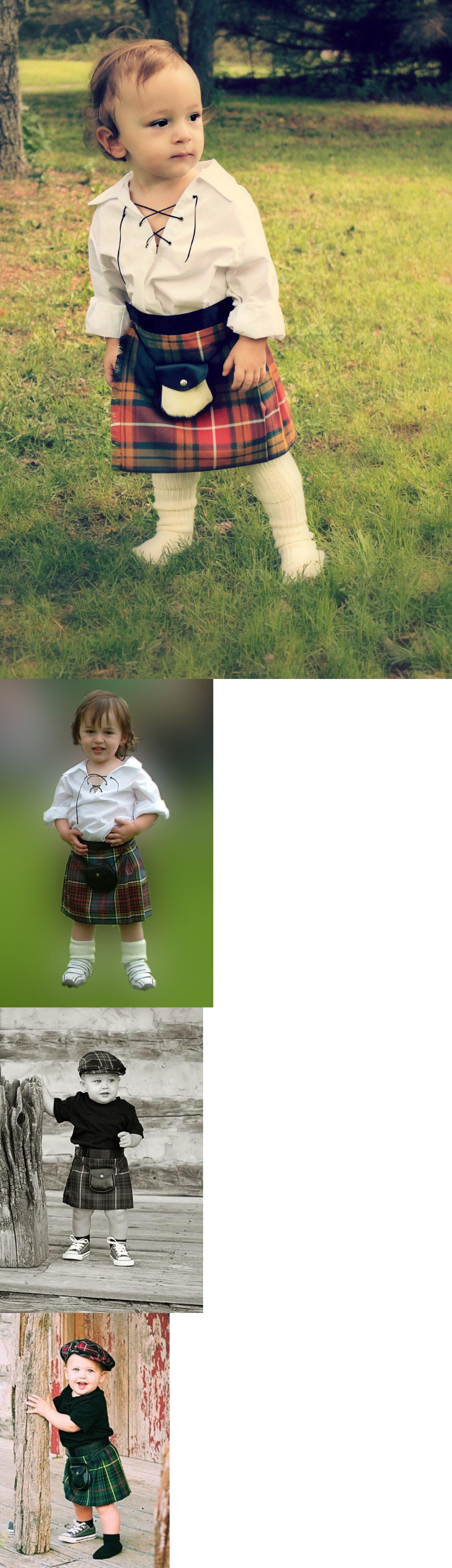 Other Baby and Toddler Clothing 1070: Scottish Baby Kilt 12-24 Month 40 Tartans Plaids Christmas? Shower? Christening -> BUY IT NOW ONLY: $35.99 on eBay!