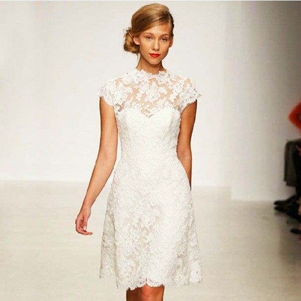 Vintage Short Wedding Dress