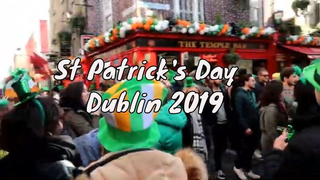 St' Patrick's Day Temple bar *Dublin Ireland* 2019 in 2020