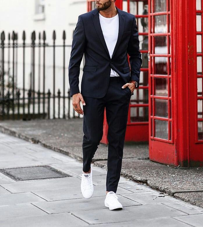 Simple Smart Casual Look For Men Designer Suits For Men Casual Look For Men Blazer Outfits Men