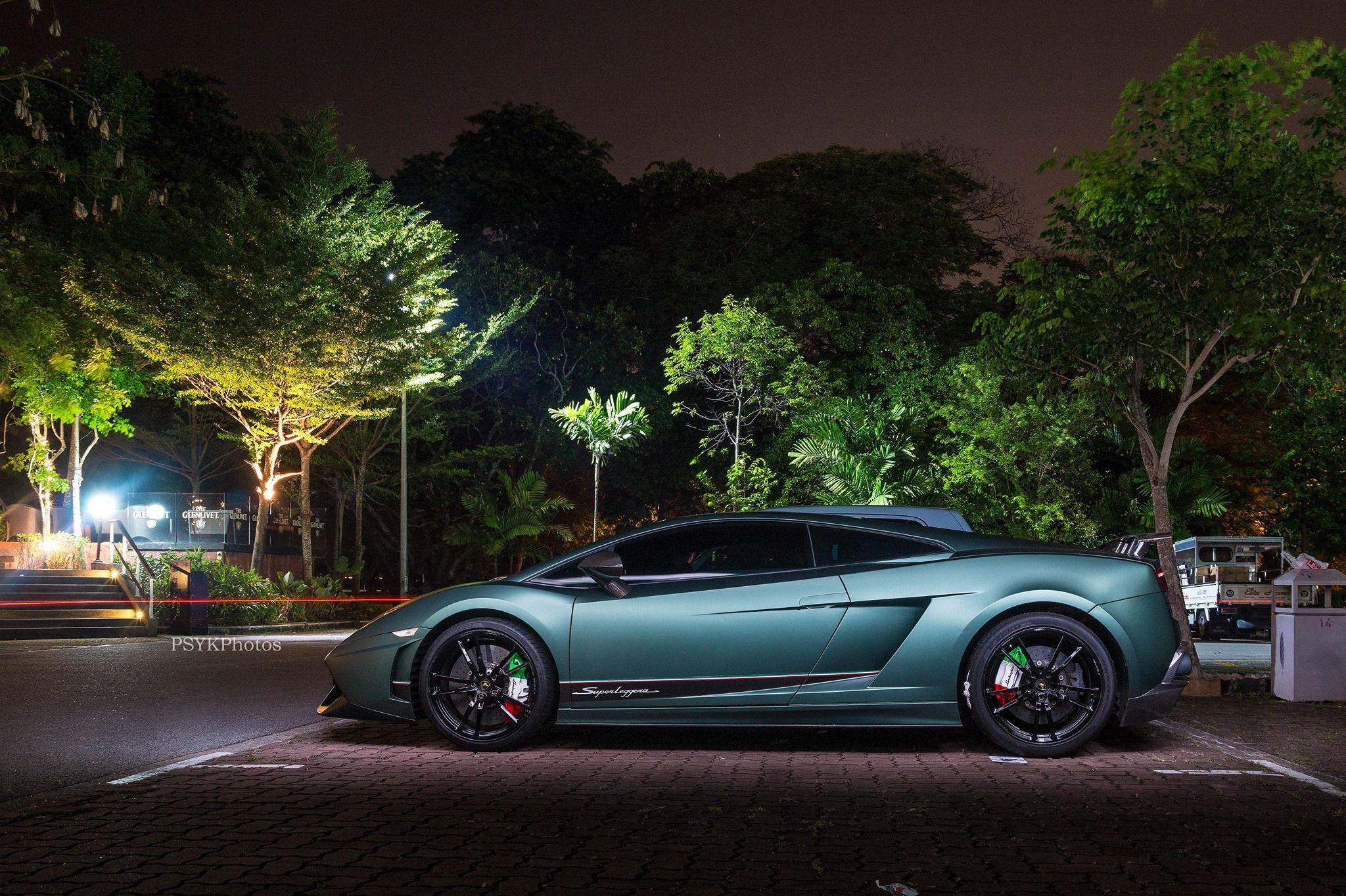 Matte Military Green Green lamborghini Lamborghini