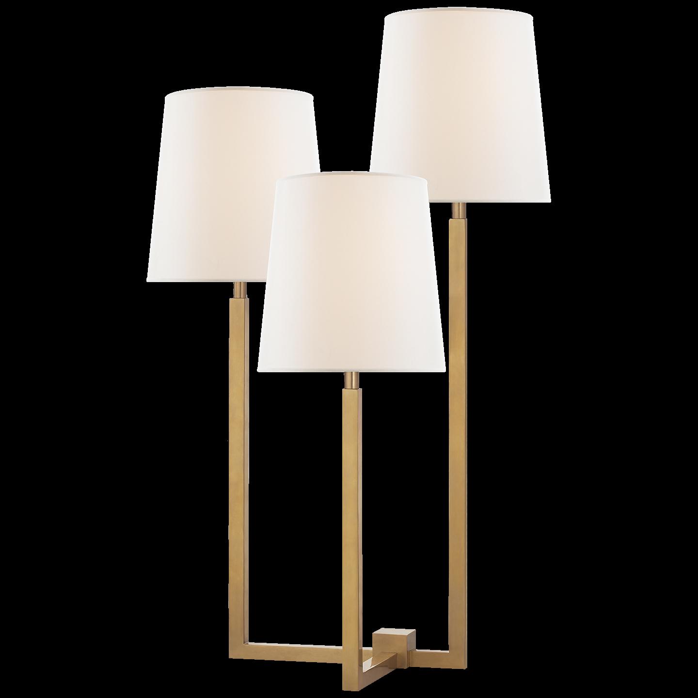 Elegant Tri Arm Floor Lamp