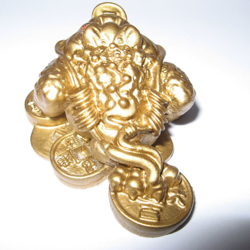 Gold Money Frog On Coins Feng Shui Feng Shui Symbols Feng Shui And Money Feng Shui