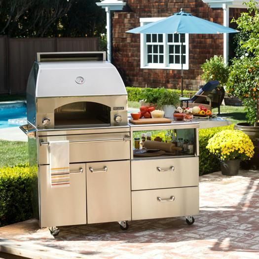 Lynx Professional Napoli 30-Inch Propane Outdoor Pizza Oven ...