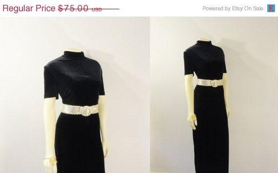 SALE Vintage Jumpsuit 90s Velvet Mock by 2sweet4wordsVintage, $63.75