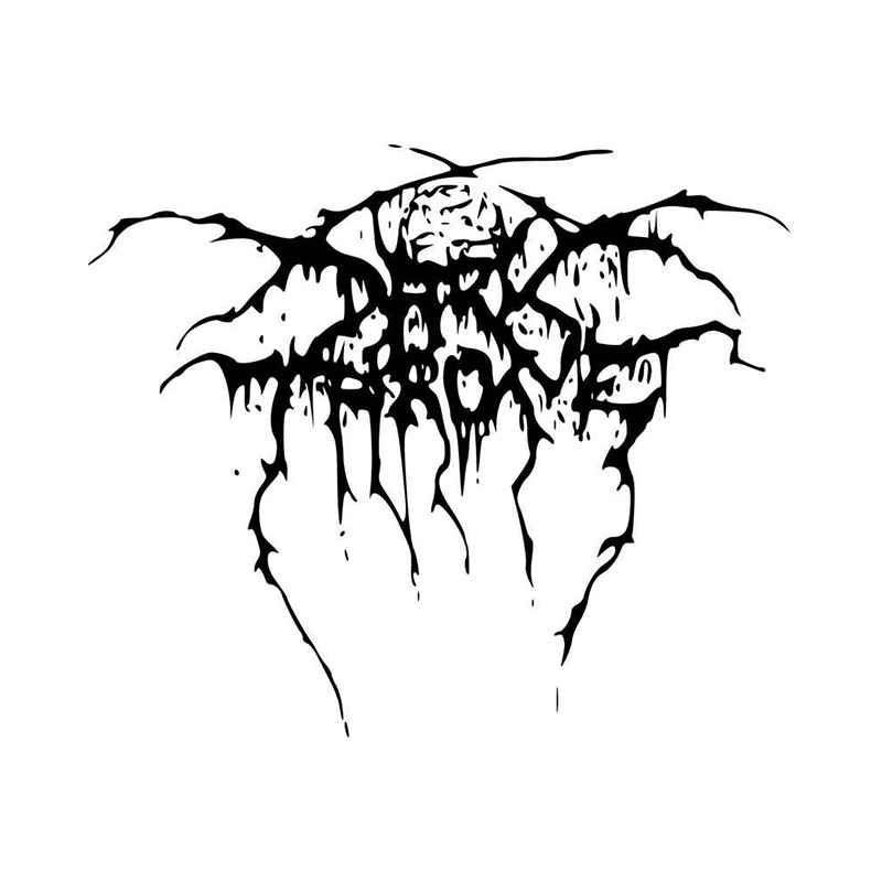 Darkthrone Band Logo Vinyl Decal Sticker BallzBeatz   com
