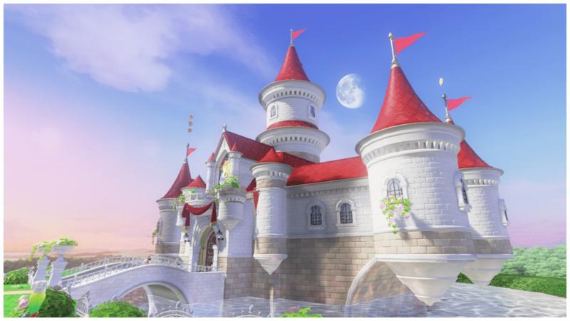 File Peach S Castle Side View Png Super Mario World Super