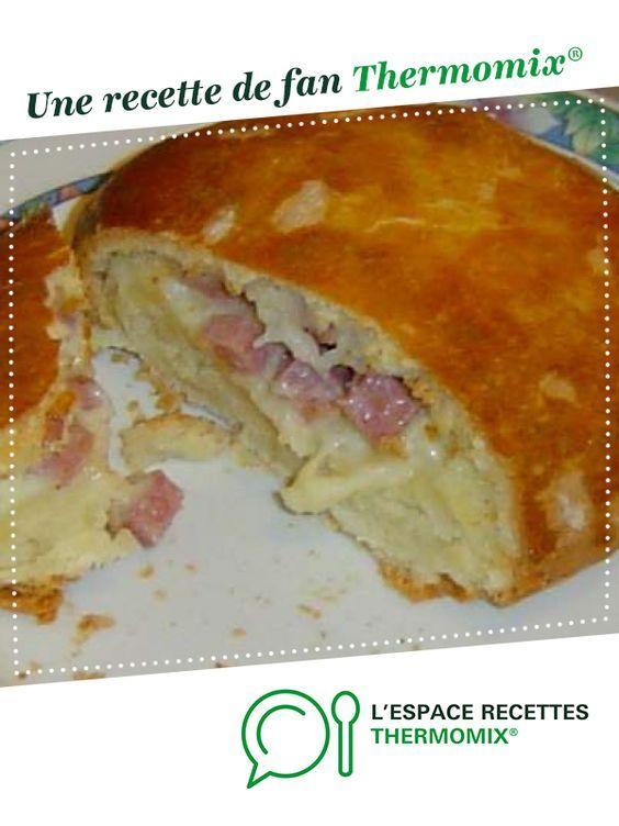 Bun's jambon fromage #monsieurcuisineconnectrecettes