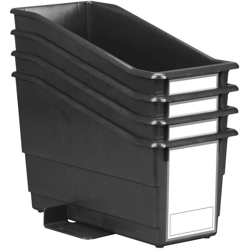 Durable Book And Binder Holders With Stabilizer Wings And