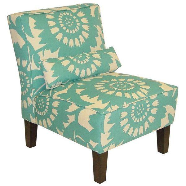 Dot Bo Dandi Lumbar Chair In Turquoise 245 Liked On
