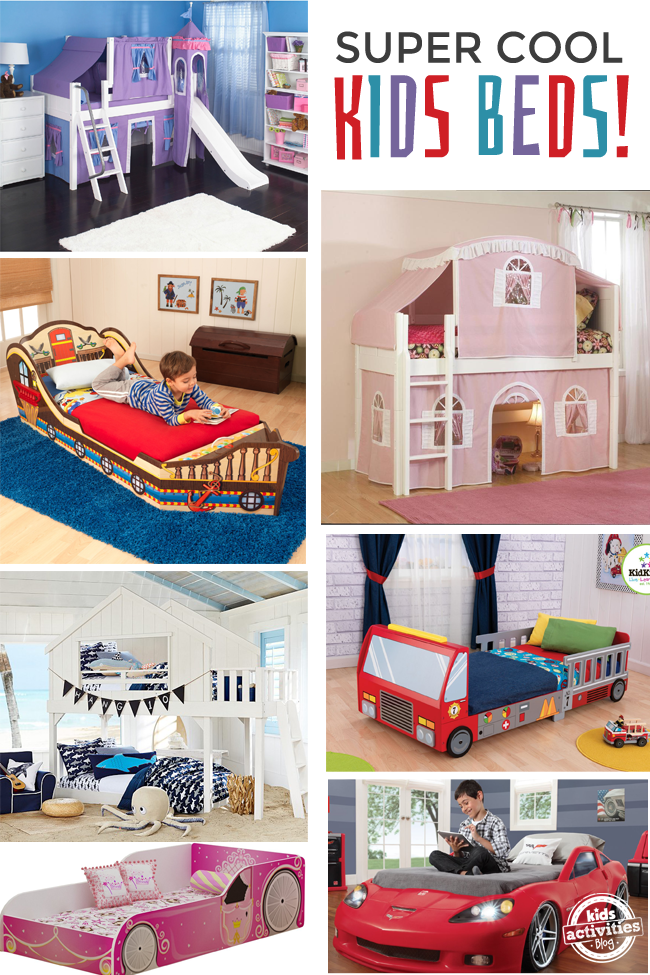 15 Super Cool Kids Beds Cool Beds For Kids Kid Beds Unique