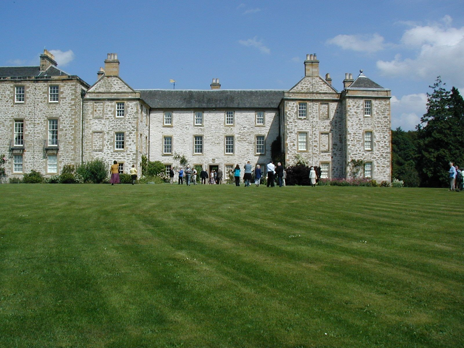 The Hirsel Is A Category Listed Stately Home Near Coldstream In Scottish Borders