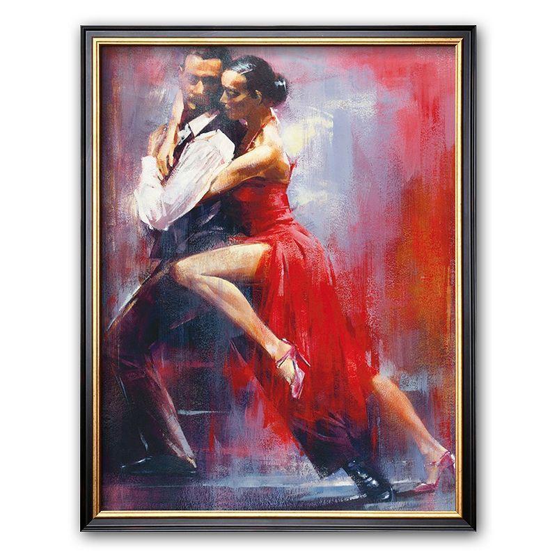 Art.com Tango Nuevo I Framed Art Print by Pedro Alverez, Multicolor