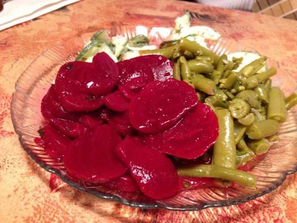 German Green Bean Salad Recipe