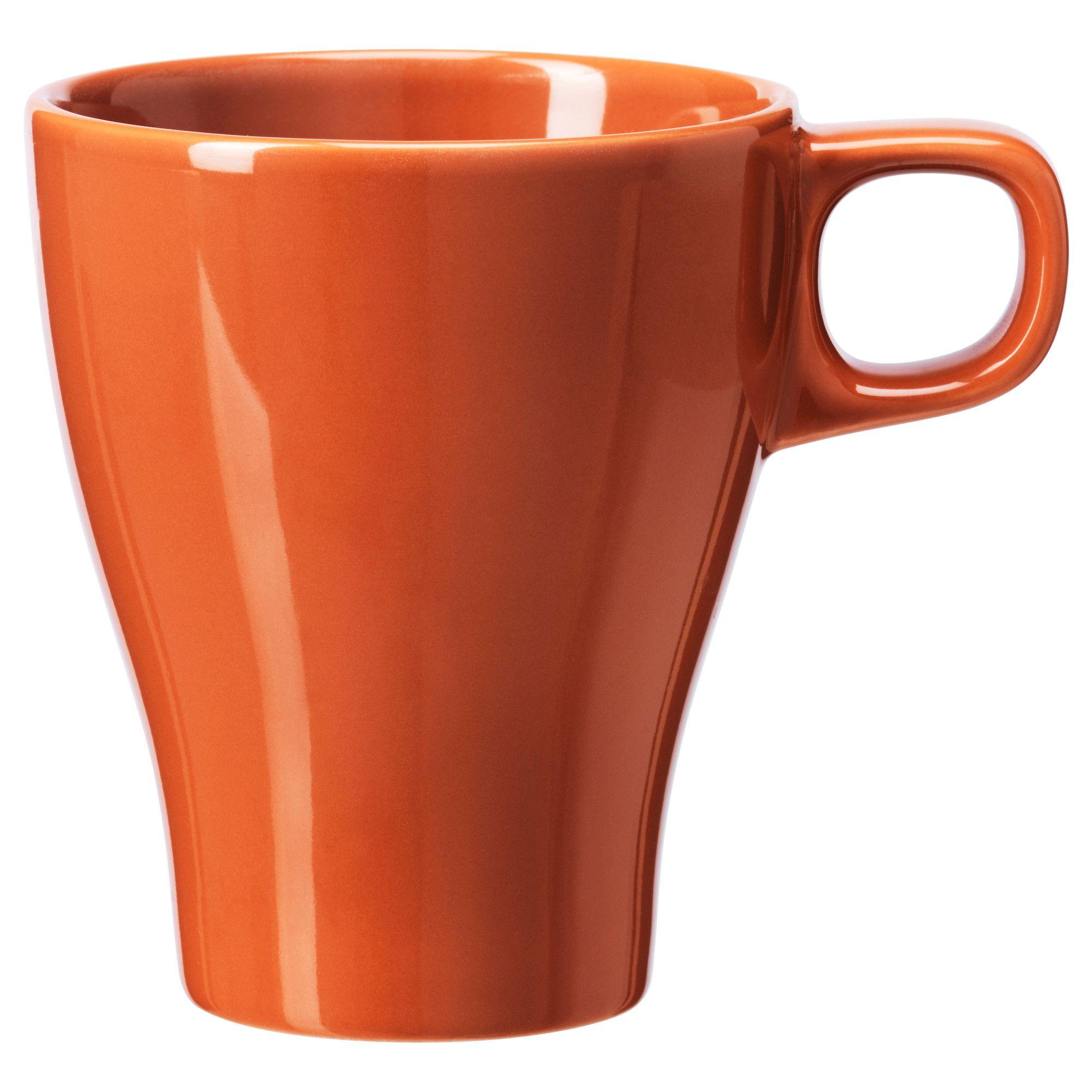 FÄrgrik Mug Ikea Orange