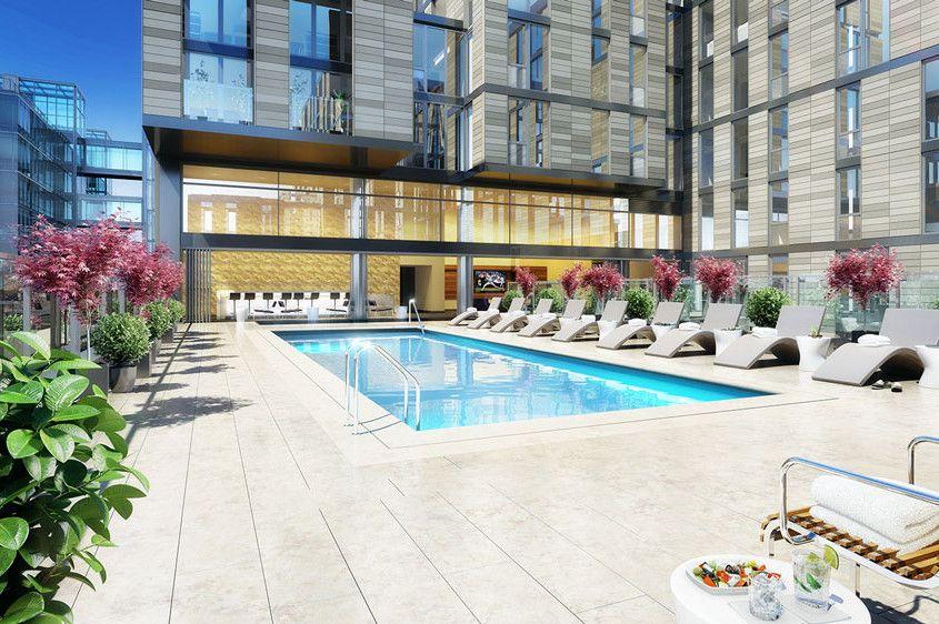 Dc Luxury Apartments Apartment Pool Washington Dc Hotels Washington Hotel