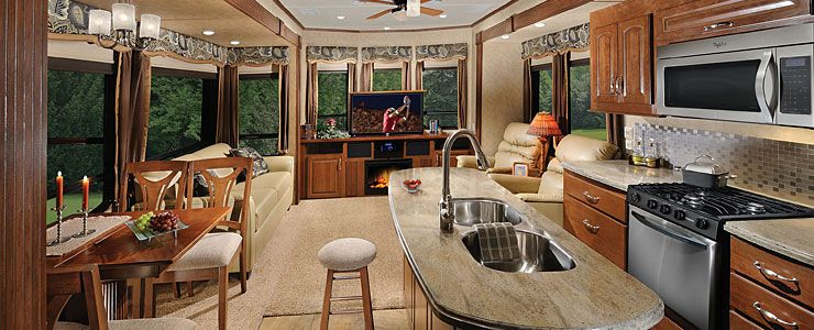 Remarkable Cedar Creek Cottage Destination Trailers By Forest River Interior Design Ideas Gentotryabchikinfo