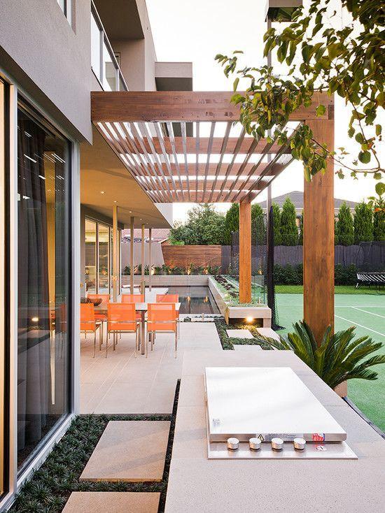 Pergolado 50 Modelos inspiradores Architecture Pinterest