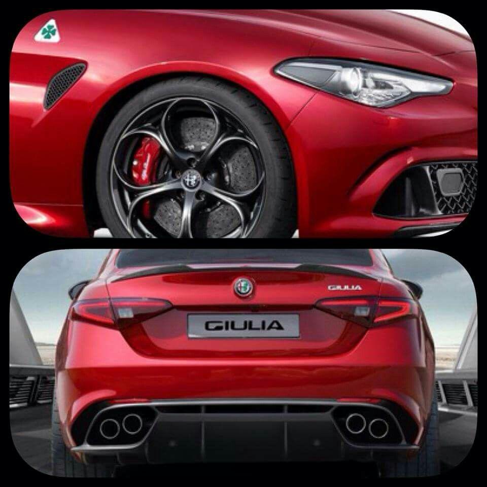 #alfa #romeo #giulia #next #red #back #love #quadrifoglio #italian #madeinitaly