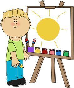 Arte 4 Clip Art Art Center Preschool Art Classroom