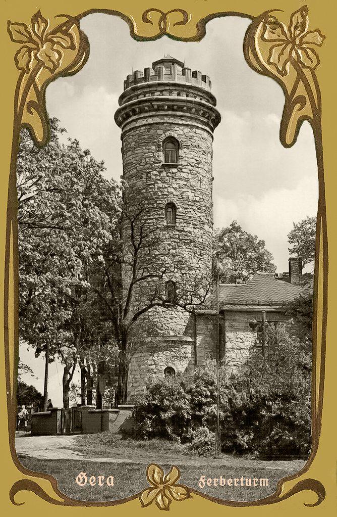 Gera Ferberturm Thüringen, Ausflug und Ausflugsziele
