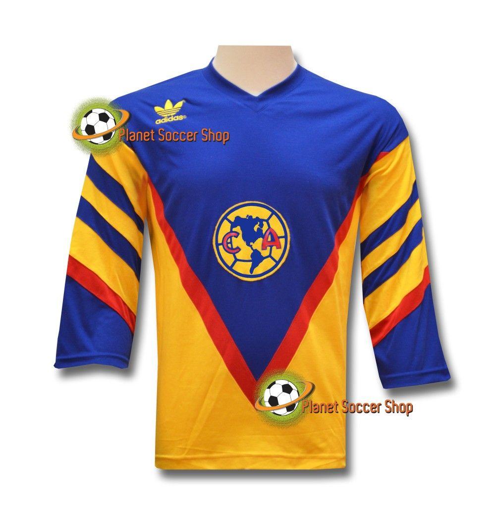 e7d85038f Club Aguilas Del America Vintage Retro Jersey Luis Roberto Alves Zague