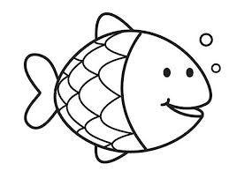 kleurplaat vis vll water animal