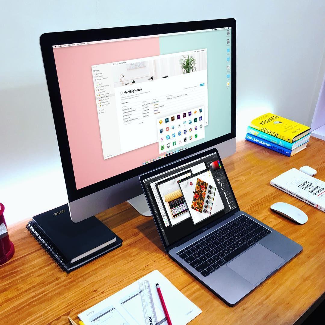 Desk   Design Tools   Home office design, Home office setup, Small ...