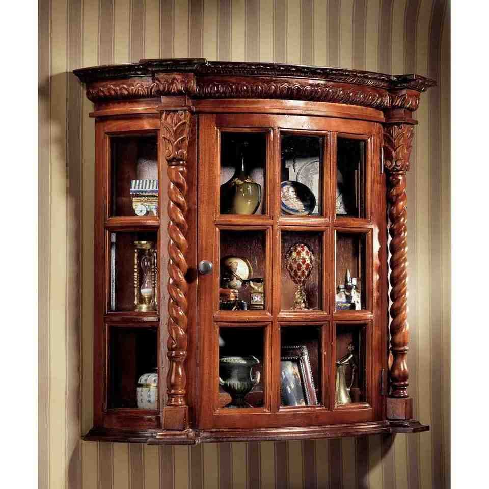 Wall Mounted China Cabinet