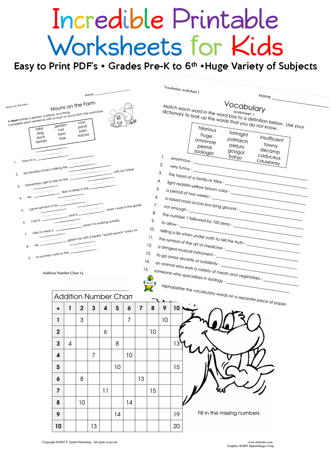The absolute BEST Printable Worksheets I've found ...
