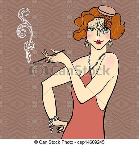 sketches of flappers - Google Search