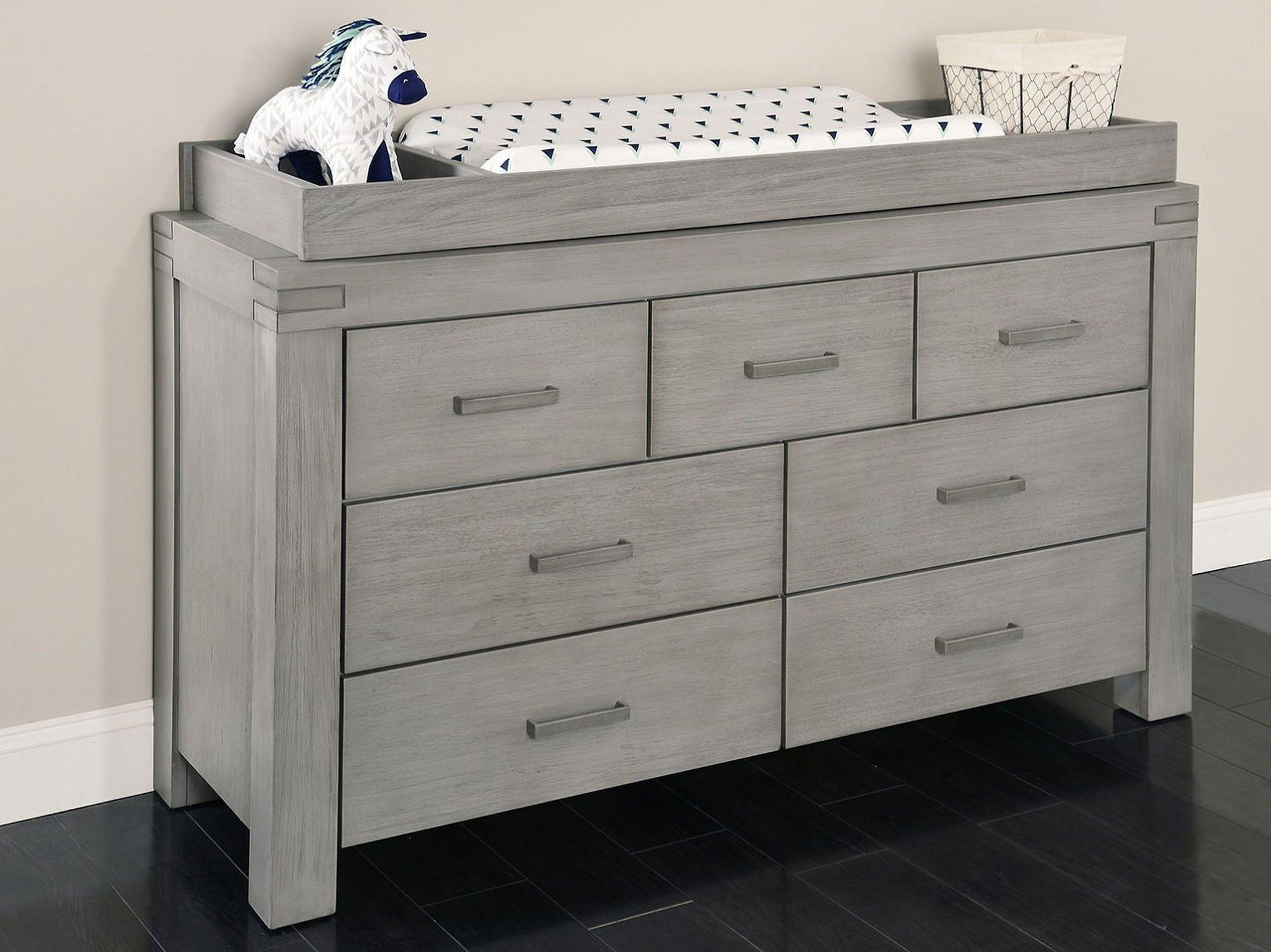 Oxford Baby Piermont 7 Drawer Dresser Rustic Stonington Grey Dresser Design Dresser Drawers