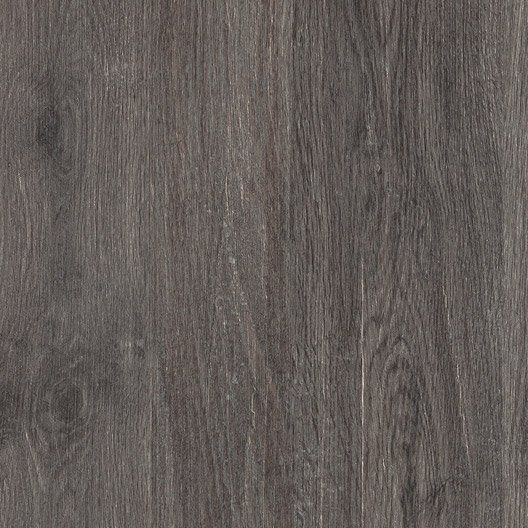 Dalle grès cérame pleine masse Siena, bois gris, L60 x l60 cm x Ep