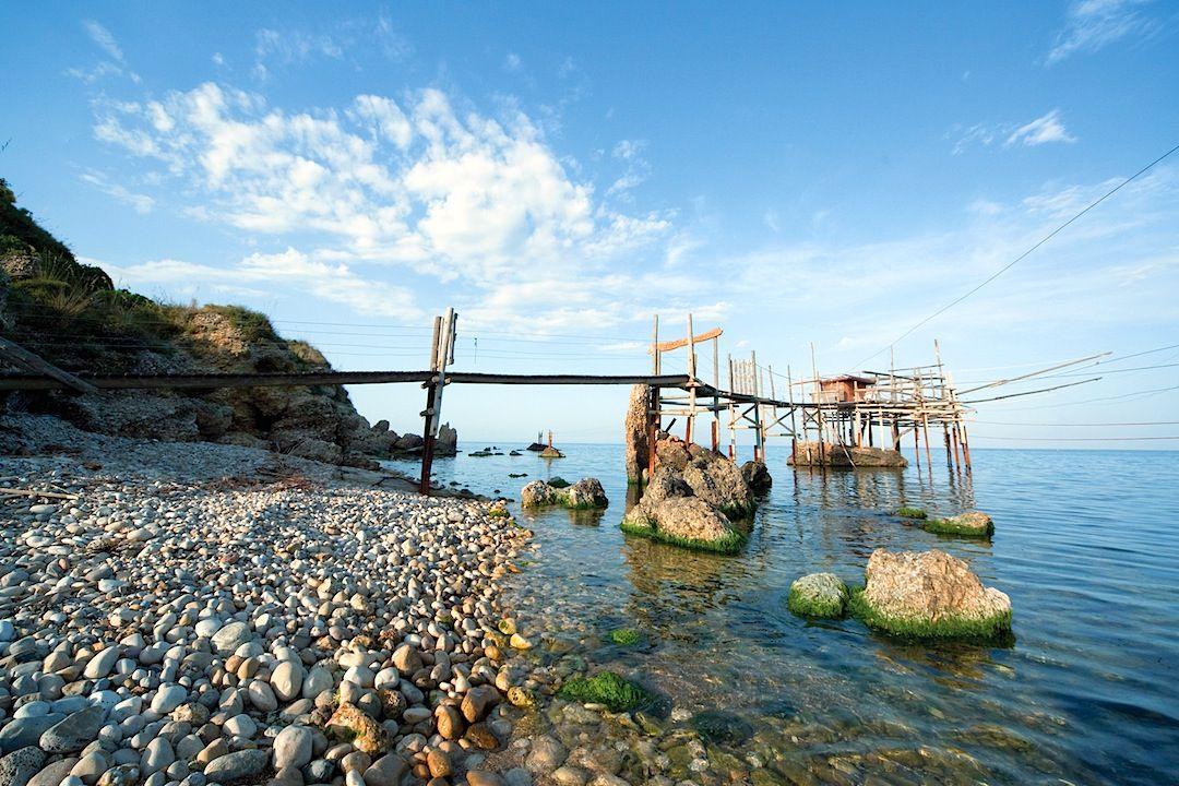 #Trabocco Punta Vignola