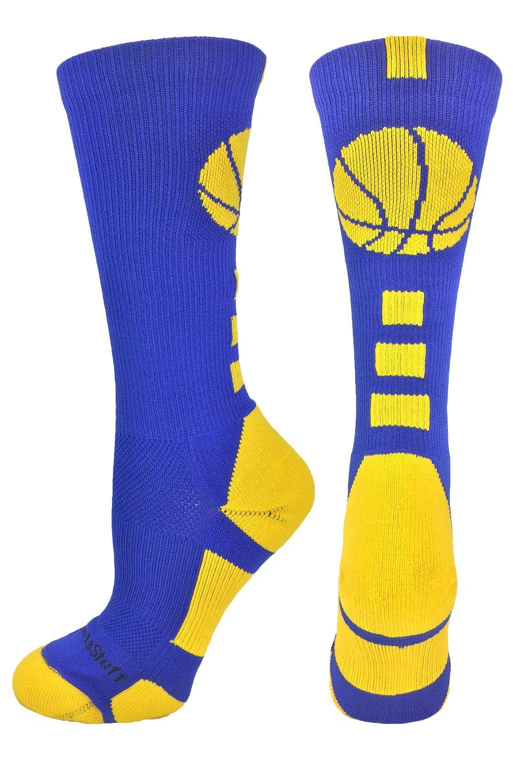 on sale 6b34f 6d87d Logo Basketball Socks   Youth Boys Basketball Socks   MadSportsStuff