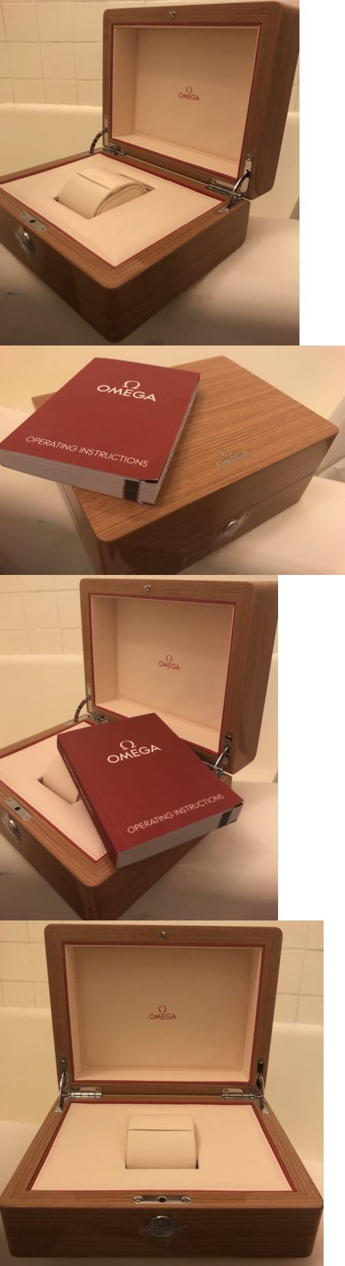 Boxes Cases And Watch Winders 173695 Omega Watch Box Speedmaster