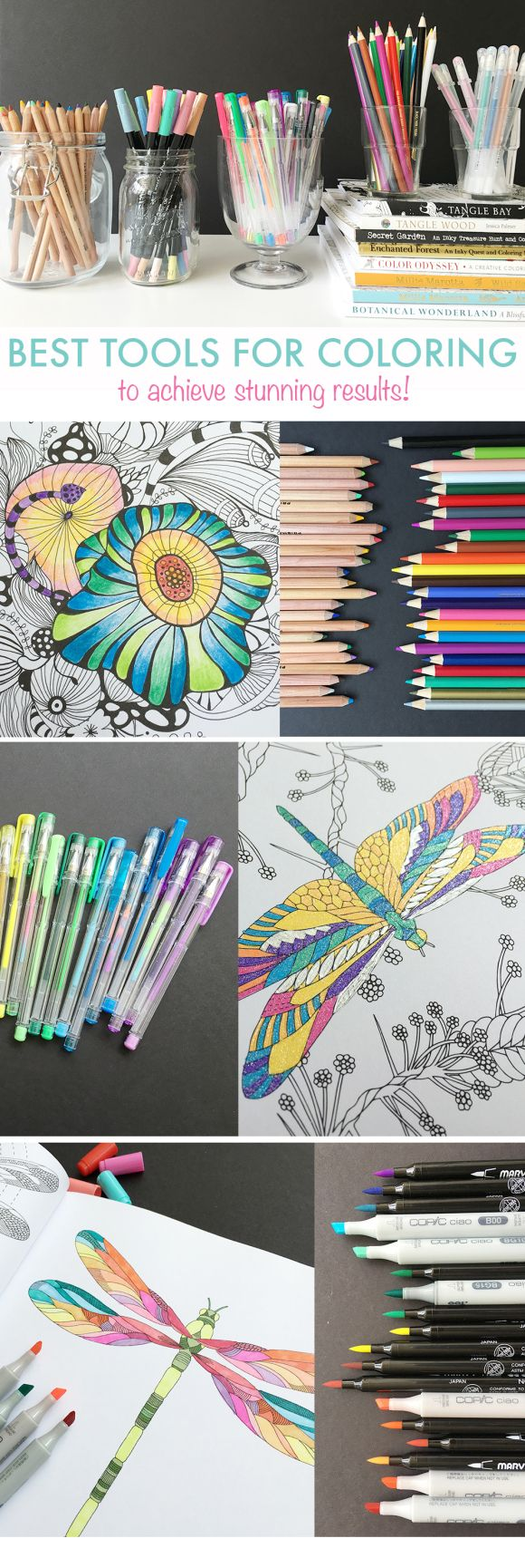 Learn The Best Tools Tips And Tricks For Coloring Looking For A Fun Coloring Book And A Few Pointers We Have Them For You Pin Now Adult Coloring Coloring Books