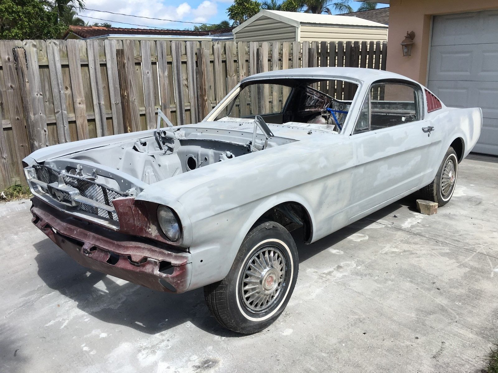 Ebay 1965 ford mustang 1965 ford mustang fastback 2 2 factory v8 very solid car fordmustang ford