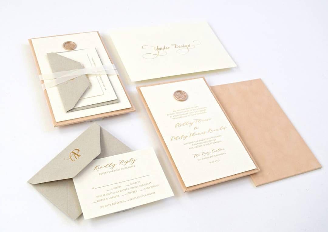 monogram wedding envelope seals sticker%0A Invitation suite        Likes     Comments  Yonder Design   yonderdesign   on Instagram   u   c    Wax SealsInvitations