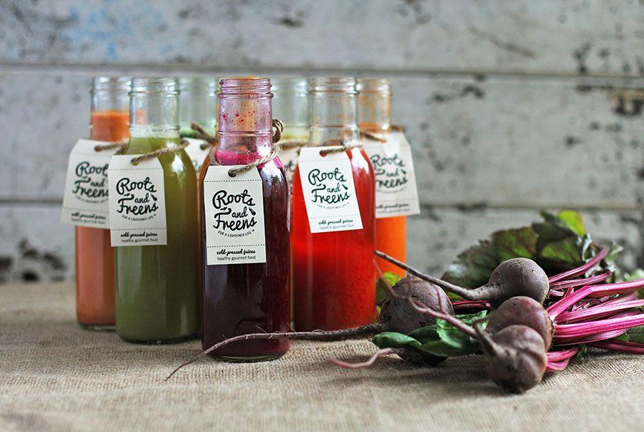 Roots & Freens | Behance | Benefits of organic food ...