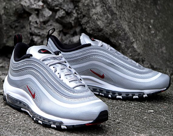 Nike Air Max 97 Hyperfuse – Metallic Silver/Varsity Red-Black | Available