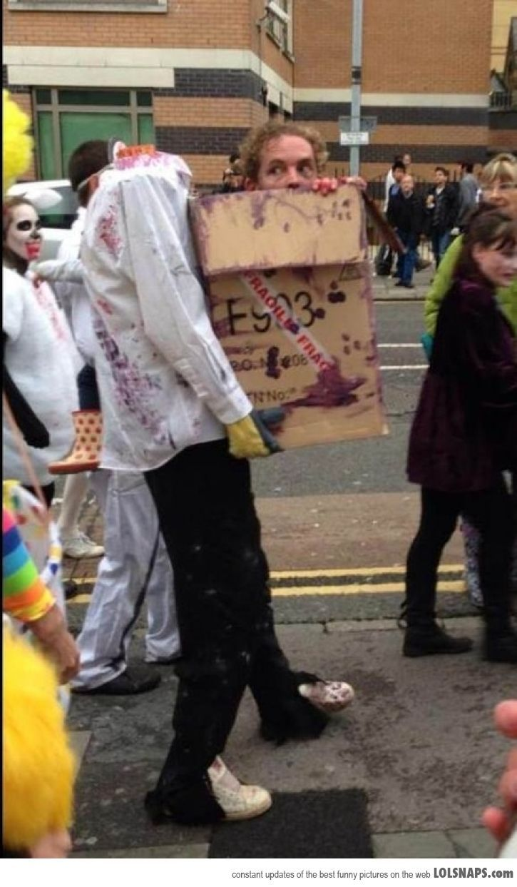One Of The Best Zombie Costumes I've Ever Seen...