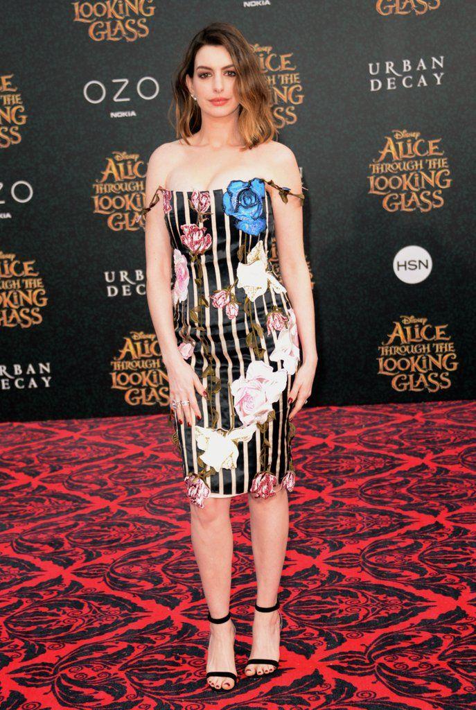 We re Pretty Sure Anne Hathaway Found This Miraculous Dress in Wonderland 677db0de2092