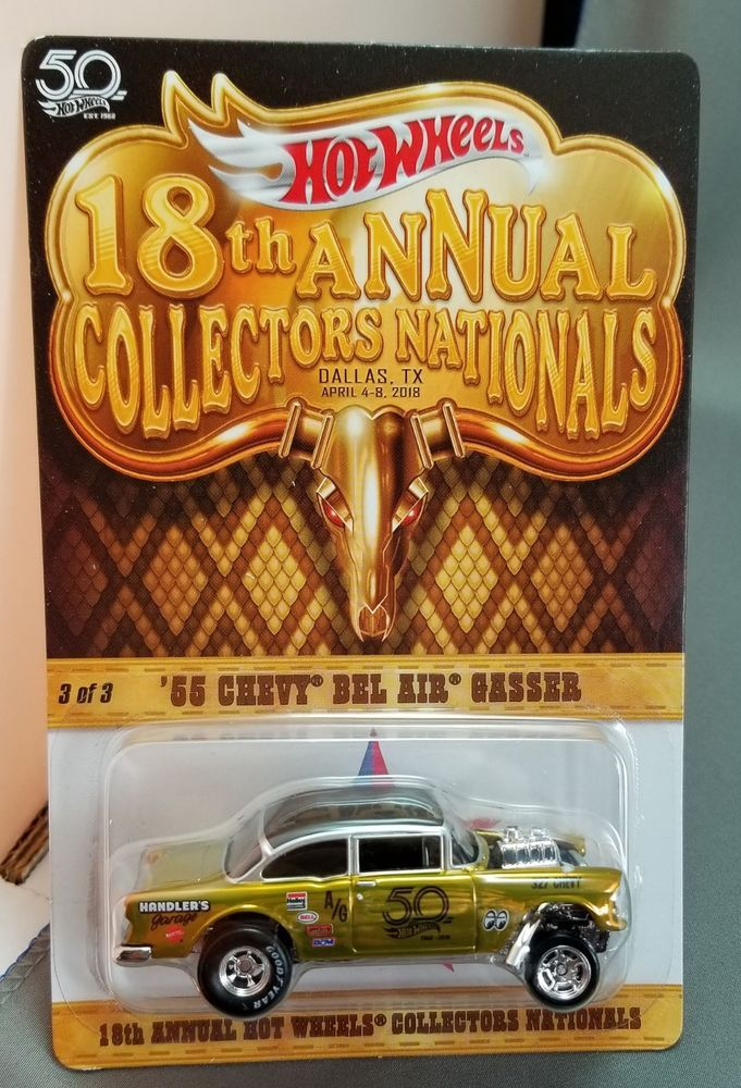 2018 Hot Wheels 18th Nationals Convention 3 55 Chevy Bel Air